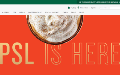 Two brilliant web design lessons you can learn from Starbucks