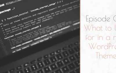Three Things to Look For in a New WordPress Theme