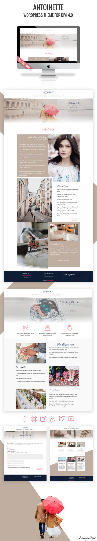 Antoinette - WordPress Theme Preview